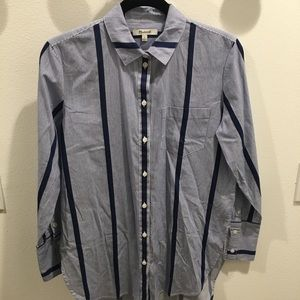Never worn Madewell button up tunic